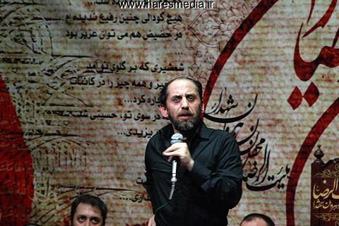 حاج احمد واعظی عزاداری ایام صادقیه 1394