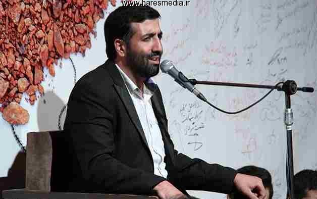 حاج مهدی مختاری وداع با شهدای غواص سال 1394 - گرگان