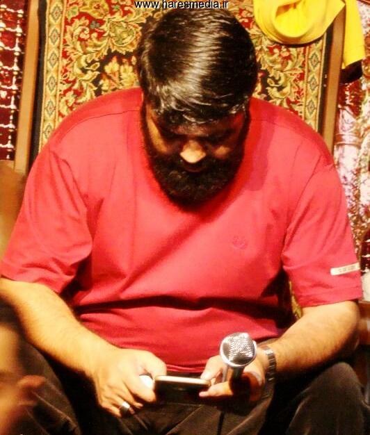کربلایی مسعود پورجلالی عزاداری وداع با رمضان 1394