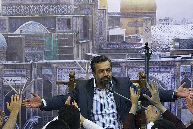 حاج محمود کریمی شب ولادت امام رضا 94 چیذر