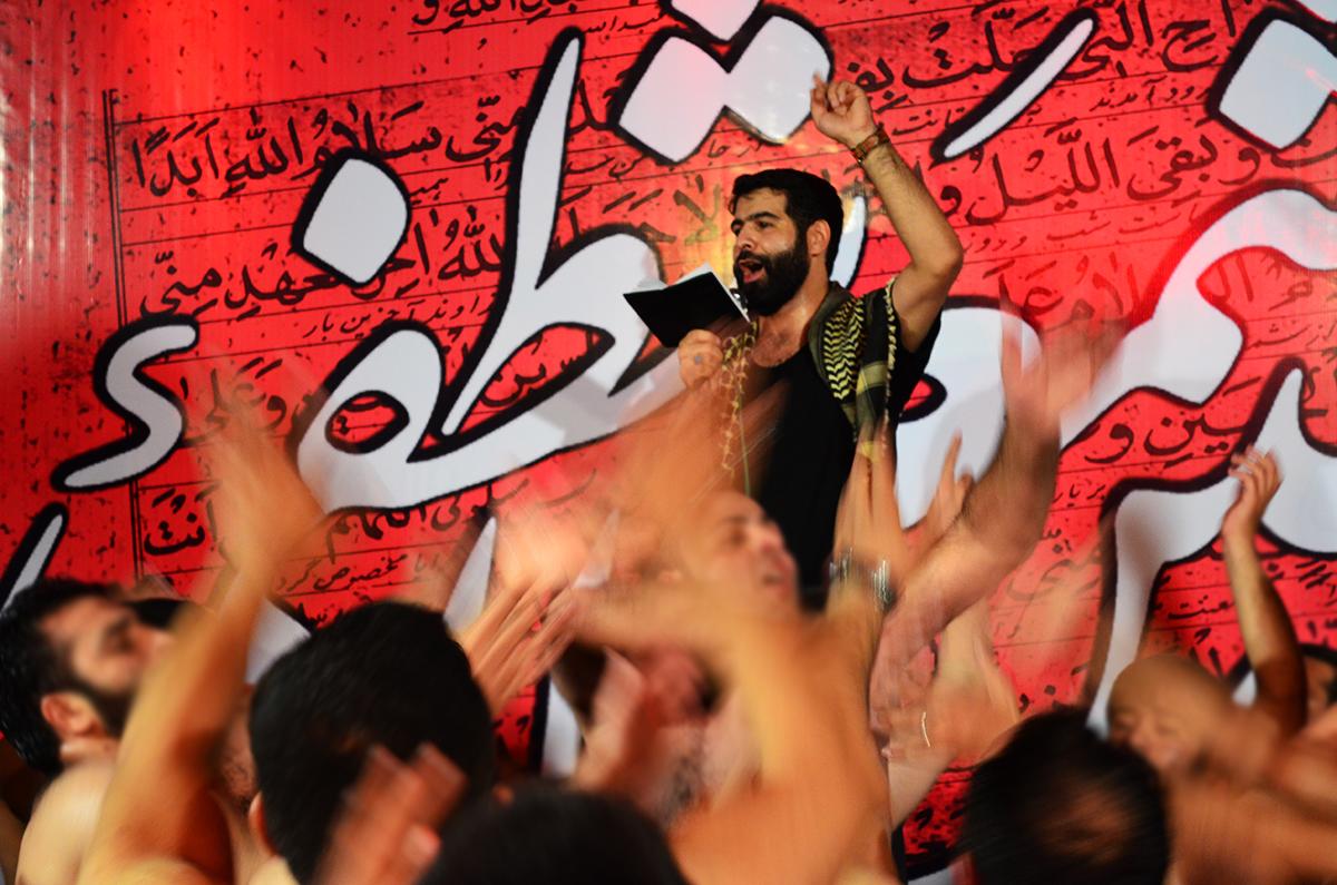 حاج حمید قلیچ خانی شهادت حضرت زینب 92