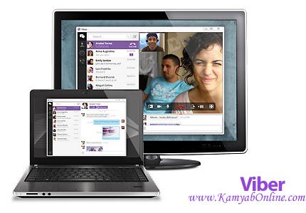 دانلود Viber v4.2.2.6 for Windows + v3.1.1 for Mac – نرم افزار وایبر، برقراری تماس صوتی و تصویری و ارسال پیامک رایگان