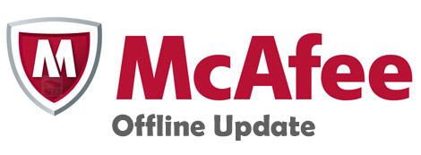 آپدیت آفلاین آنتی ویروس مکافی - McAfee VirusScan Offline Update 2015-09-03