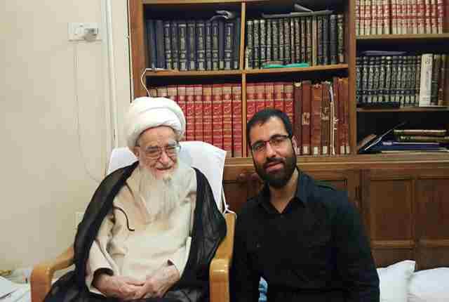 حاج حسین سیب سرخی ایام شهادت امام جواد 94 تهران