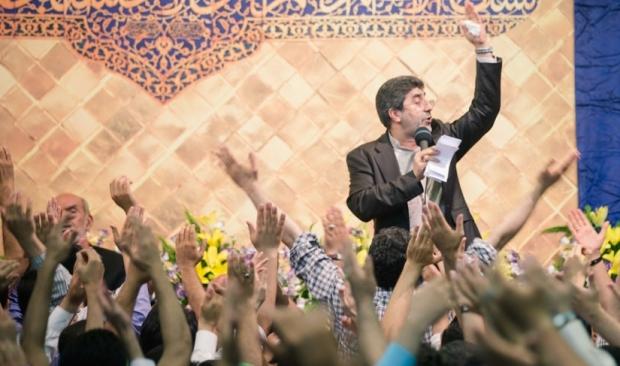 حاج محمد طاهری شام میلاد امام رضا 94