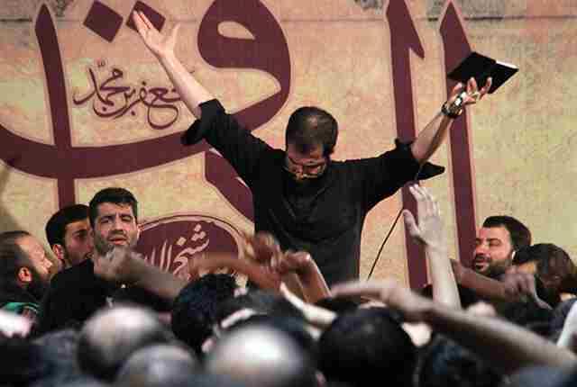 حاج حسین سیب سرخی مدافعان حرم شهریور 94
