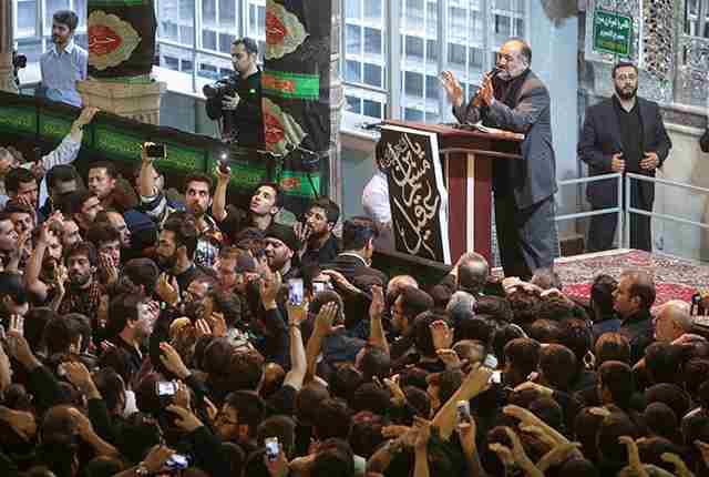 حاج نریمان پناهی مسجد ابالفضل و هیات درب شازده شیراز