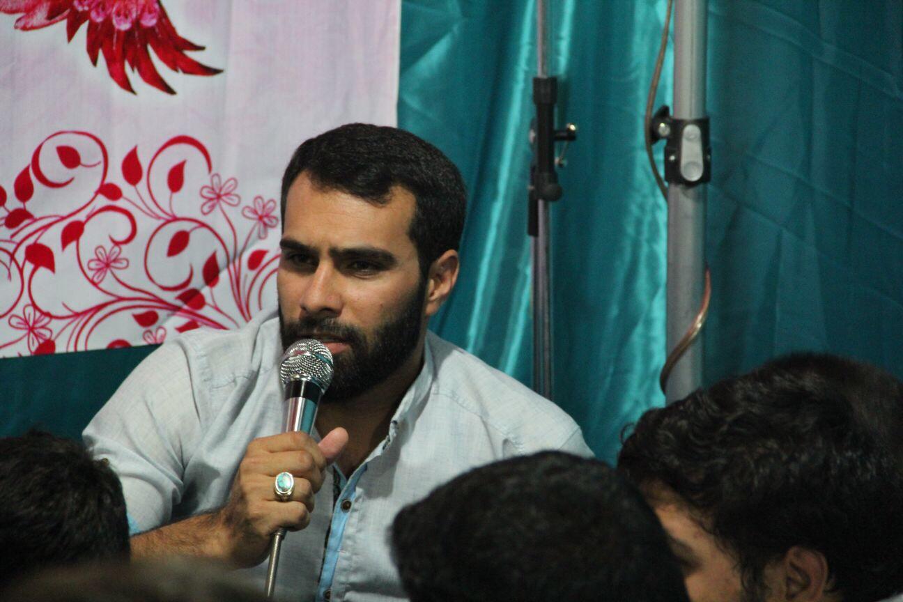 حسین درویشی جشن غدیر شيراز 94