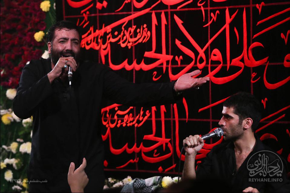 حاج مهدی مختاری شب ششم محرم الحرام 92