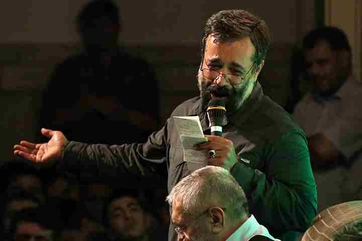 برنامه مراسمات هفتگي حاج محمود كريمي مهر 94