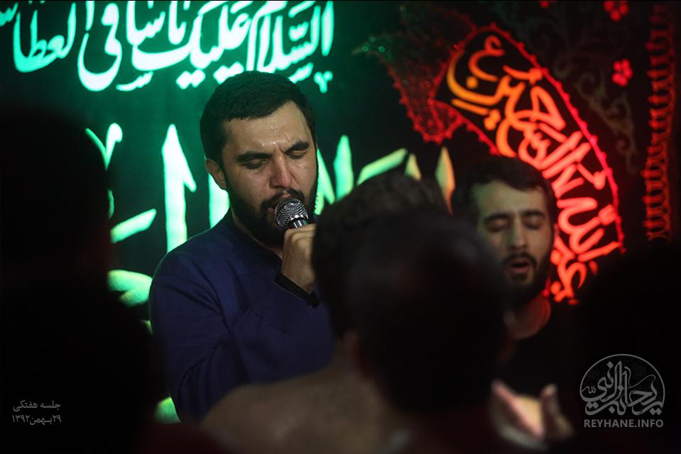 دانلود مراسمات كربلايي حميد عليمي شب اول تا چهارم محرم 94