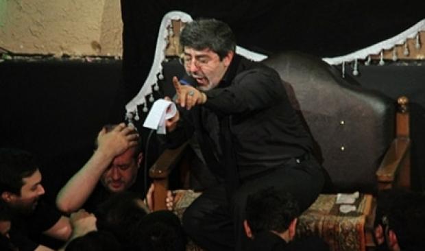 حاج محمد طاهری شب شام غریبان محرم 94