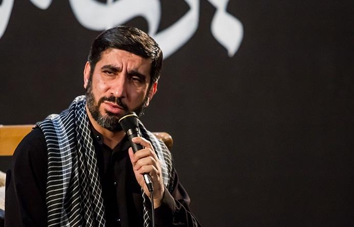 حاج مهدي سلحشور شب عاشورای حسینی در هیئت فاطمیون قم 94