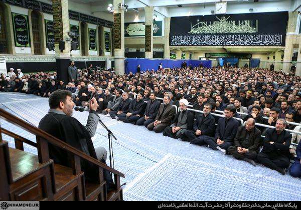 حاج سعيد حداديان شب شهادت امام سجاد در حسینیه امام خمینی(ره)